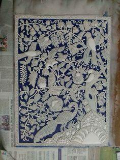 Marble Art, Creative Artwork, Persian, Folk Art, Papercutting, Texture, Quilts, Embroidery, Art Paintings
