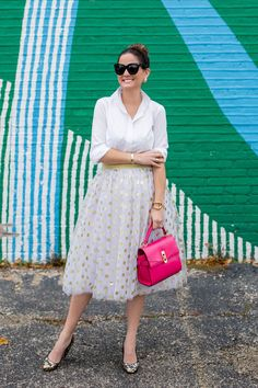 Tulle skirt via Style Charade