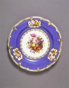 Dinner plate Spode Ceramic Works (the blue color!)