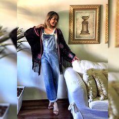 Look com Kimono da @vanguardastore - ❤️❤️ #estiloandreafialho #andreafialho #vanguardastore