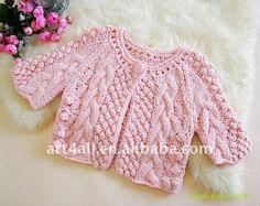 Knitting for baby girl.