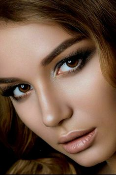 Top 10 Countries With The World's Most Beautiful Women (Pictures included) Most Beautiful Faces, Gorgeous Eyes, Brunette Beauty, Hair Beauty, Portrait Photos, Beauté Blonde, Woman Face, Girl Face, Pretty Face