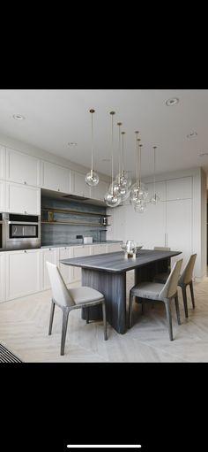 10 Inspiring Modern Kitchen Designs – My Life Spot Apartment Interior Design, Bathroom Interior Design, Kitchen Design, Kitchen Decor, Rustic Home Design, Contemporary Interior Design, Kitchen Cabinetry, Kitchen Living, Interior Design Inspiration