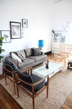 Satsuma Studio - Break out area. Teak chairs nice