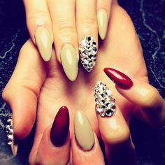 Cute xmas nails!