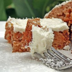 Coconut Butter Blondies with Coconut Buttercream Frosting