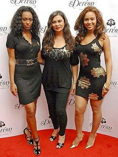The Knowles women. Beyonce, sister & Mom