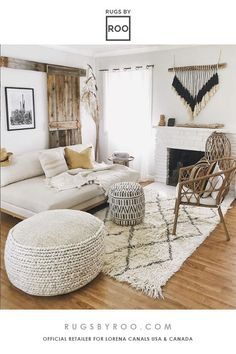 A Moroccan themed living room isn't complete without a berber rug.  This one is special because its completely Machine Washable AND made from 100% Wool.  Designed in Spain by Lorena Canals.  Handmade in India.  Sold at Rugs by Roo. #lorenacanalsrugs #washablerugs #woolrugs #berberrug Boho Chic Living Room, Living Room Decor, Bedroom Decor, Boho Chic Entryway, Moroccan Decor Living Room, Washable Area Rugs, My New Room, Boho Decor, Modern Bohemian Decor