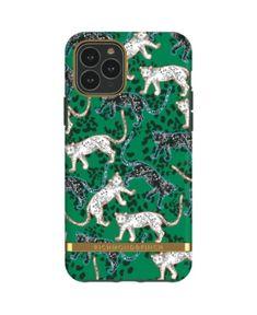 Richmond /& Finch Dise/ñada para iPhone 11 Cubierta Protectora Probada a Prueba de Golpes Leopardo Rojo Samba Fundas