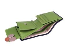 Handmade from fine calf tone colour combination Luxurious cream suede credit card slots with beautifully turned edgesExpandable coin purseSecure tab and stud fasteningSingle note section l Man Purse, Coin Wallet, Men's Collection, Calves, Divider, Coins, Mesh, Window, Note