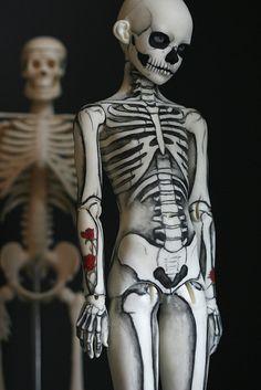 By Kat Caro skeleton boy by Kittytoes, via Flickr