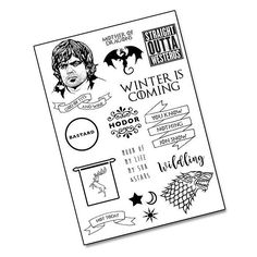 Cannot wait for new #GameOfThrones!!!! Have you seen our new Temporary #Tattoos inspired by the show? Our fave is the 'bastard' one