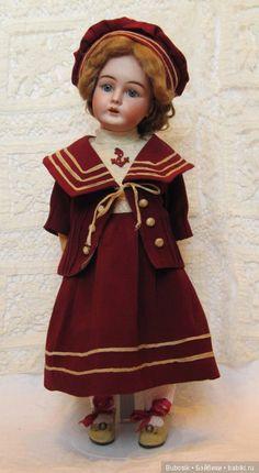 Прелестная Max Handwerck 283 / Антикварные куклы, реплики / Шопик. Продать купить куклу / Бэйбики. Куклы фото. Одежда для кукол