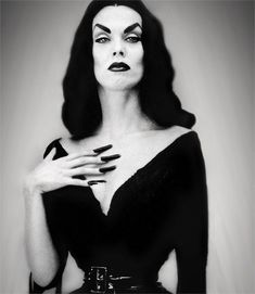 Maila Nurmi (December 11, 1922 – January 10, 2008) was a Finnish-American actress who created the campy 1950s character Vampira. Description from pinterest.com. I searched for this on bing.com/images