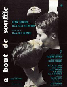 Poster for a bout de souffle