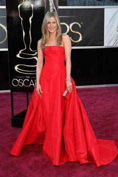 Jennifer Aniston, red carpet