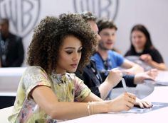 Nathalie Emmanuel – 'Game of Thrones' Autograph Signing at Comic Con 2016 in San Diego