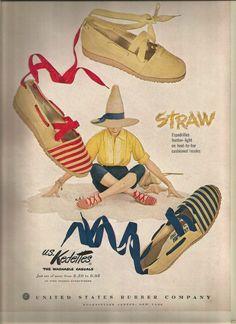 50's Vintage U s Kedettes Shoe Advertisement 1953 | eBay