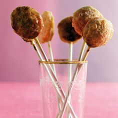 Lollipop sticks can be found at crafts stores, or enjoy these little pies right out of hand.