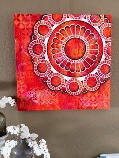 www.debruijnebeer.nl workshop-foto.php?foto=588 Inktober, Mosaic, Workshop, Bullet Journal, Gemstones, Canvas, Drawings, Sleeve, Illustration