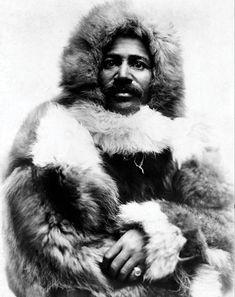 Matthew Henson  1866-1955 Arctic explorer Left: date unknown
