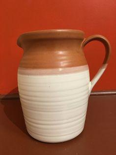 Eddie Bauer pitcher vintage farmhouse pitcher ceramic by MADMrs