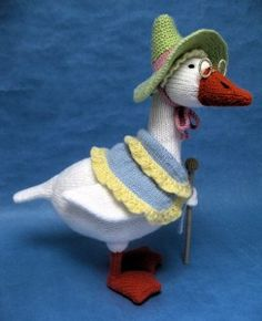 Alan Dart Knitting Pattern: Mother Goose, in Simply Knitting Magazine Issue 117