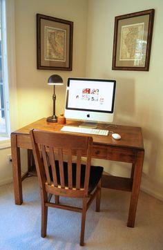 Office nook in my living room