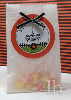 googly ghouls googlies stampin up halloween treat