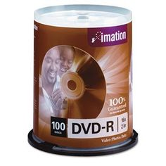DVD-R Discs, 4.7GB, 16x, Spindle, Silver, 100/Pack by TDK. $59.79. ForceField? protective coating adds a unique
