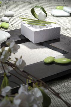 Déco de table zen