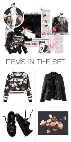 """You're everything in this world to me. Harder, so it hurts, hold me tight"" by ggeorgie-g ❤ liked on Polyvore featuring art"
