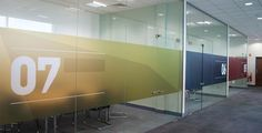 Making the wing fly Corporate Office Design, Office Branding, Corporate Interiors, Workplace Design, Office Interior Design, Office Interiors, Office Graphics, Window Graphics, Commercial Design
