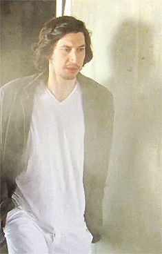 He does the little shoulder thing aww. Adam Driver (The Meyerowitz Stories)