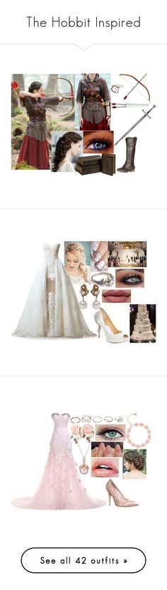 """The Hobbit Inspired"" by sophie-swan ❤ liked on Polyvore featuring Guide London, IMAX Corporation, SOLD Design Lab, Refresh, Badgley Mischka, Miriam Haskell, GUESS, Ted Baker, RALPH & RUSSO and Betsey Johnson"