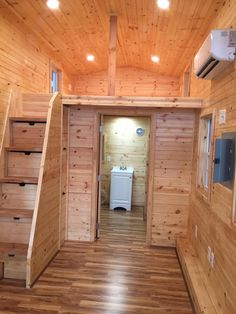 Custom portable tiny houses on wheels for sale. Small Log Cabin Kits, Diy Log Cabin, How To Build A Log Cabin, Tiny House Cabin, Log Cabin Homes, Tiny House Design, Tiny House On Wheels, Portable Tiny Houses, Building A Storage Shed