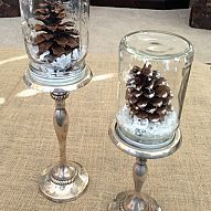 DIY Mason Jar Snow Globes I saw some super cute mason jar snowglobes on Anthropologie but they were from $25 to $40 each. I decided to...