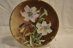 "Nippon China Morimura Brothers 10"" Plate - Vintage by BigBlossomAntiques on Etsy"