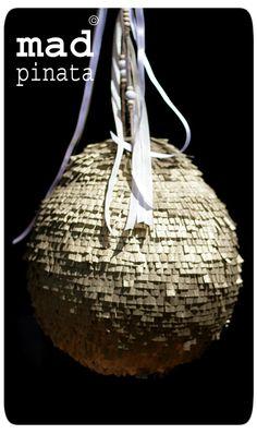 gold pinata basic design created by mad pinata !