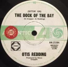 (SITTIN' ON) THE DOCK OF THE BAY / SWEET LORENE | OTIS REDDING | Min Bid: $20.00 AUD | 7 inch single | music4collectors.com