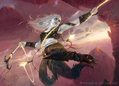 Kor Sky Climber - MtG Art Oath of the Gatewatch