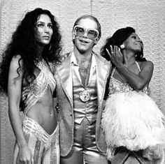 Cher, Elton and Diana