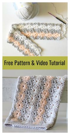 Crochet Tutorial Ideas Petal Stitch μωρό κουβέρτα Δωρεάν Pattern πλέκω και Video Tutorial - This Petal Stitch Baby Blanket Free Crochet Pattern is perfect for any newborn girl. The beautiful crochet petal stitch with a classic and antic look. Crochet Baby Mittens, Crochet Baby Blanket Free Pattern, Crochet Baby Blanket Beginner, Crochet Baby Booties, Crochet Afghans, Free Crochet, Baby Afghan Patterns, Learn Crochet, Beginner Crochet