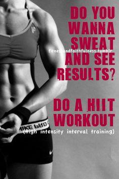 do a HIIT workout!!!  https://www.facebook.com/FitnessandFaithfulness