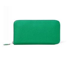 hermes Azap mint green wallet womens