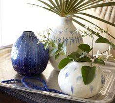 Artisan Bud Vases #potterybarn
