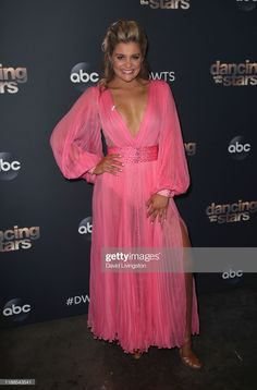 """Lauren Alaina poses at """"Dancing with the Stars"""" Season 28 at CBS Television City on November 2019 in Los Angeles, California. Get premium, high resolution news photos at Getty Images Lauren Alaina, Artist Album, Country Music Singers, Spring Hairstyles, Ballroom Dress, Talent Show, Dancing With The Stars, American Idol, Albums"""