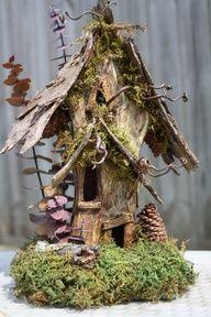 Woodland Forest Fairy House