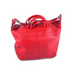 San Telmo/Weekender Shopper Ferrari Red | Roque Bags