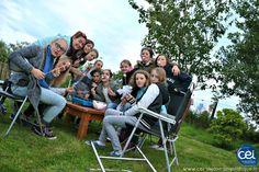 Grillades de #chamallows dans le jardin à #Bailieborough en #Irlande